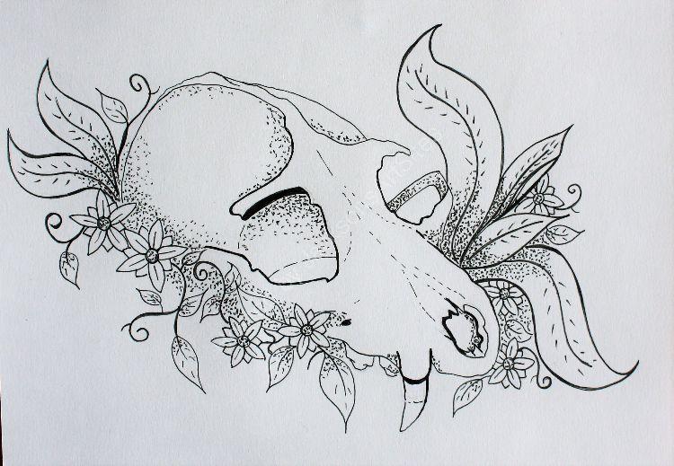 """""""Fox Skull"""""""
