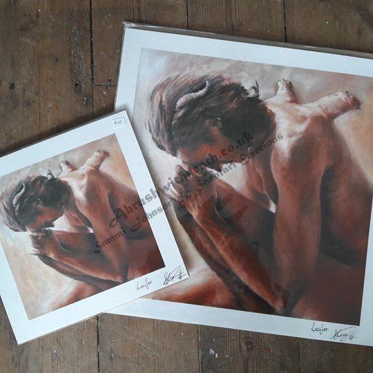 25.5x25.5 Lucifer Fine Art Print
