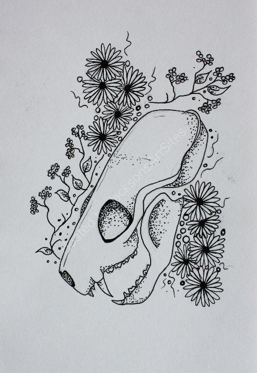 """""""Mink Skull"""""""