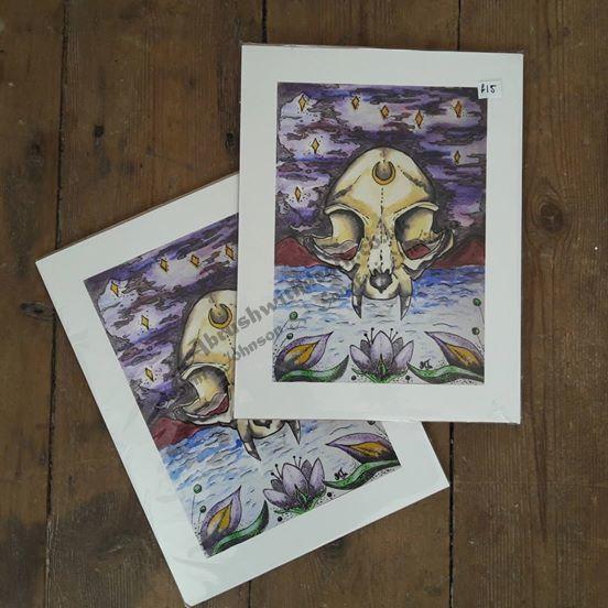 20x26.5cm Nocturnal Fine Art Print