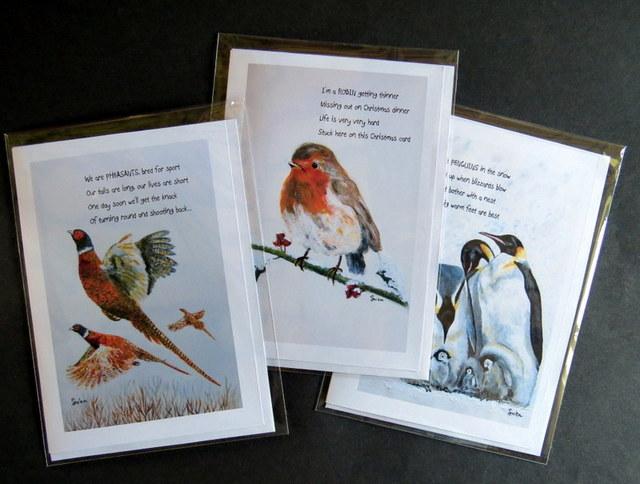 Absurd Bird Greeting Cards