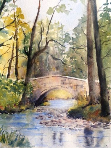 Bridge at Macredden Village,Wicklow