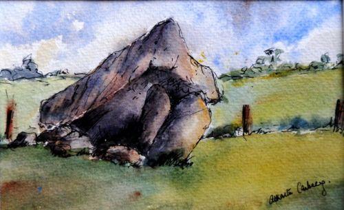 Browneshill Dolmen,Carlow