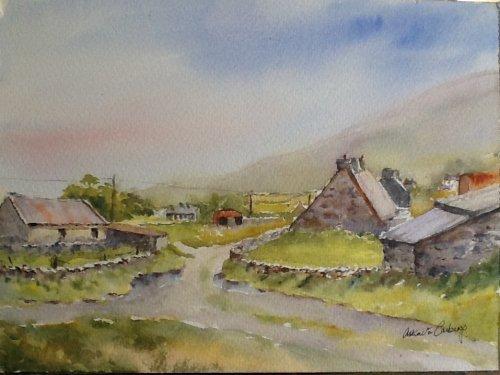 Misty Mountain, Dingle Penninsula