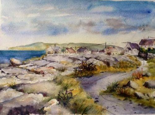 Inisheer village Aran islands