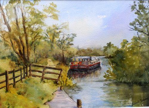 Barge on the Barrow