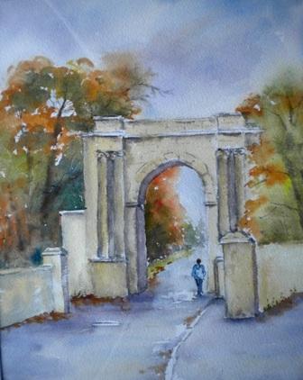 Oak park Gates