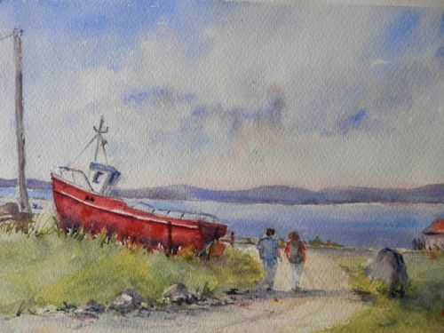 Red boat ,Inisheer