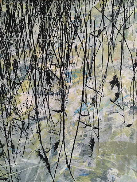 'Walk from Dove cottage', Mixed media, SOLD