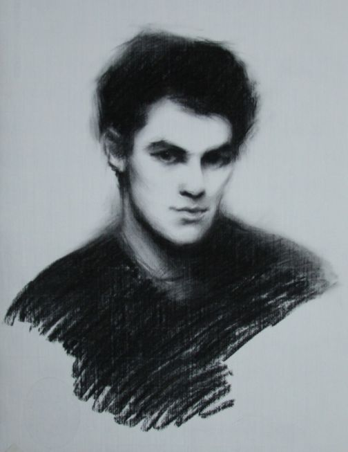 Harry - Charcoal on paper 60 x 45 cm