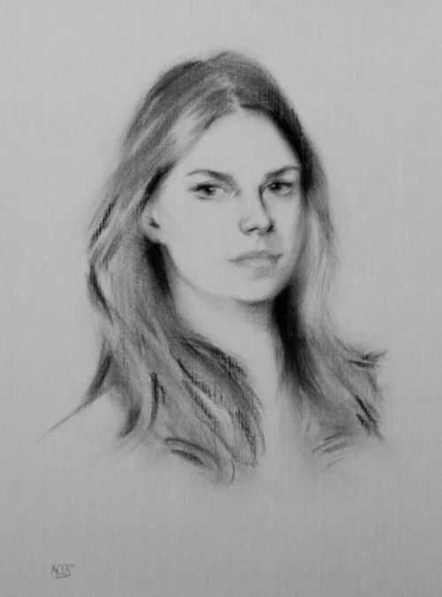 Catriona Hands - Charcoal on paper