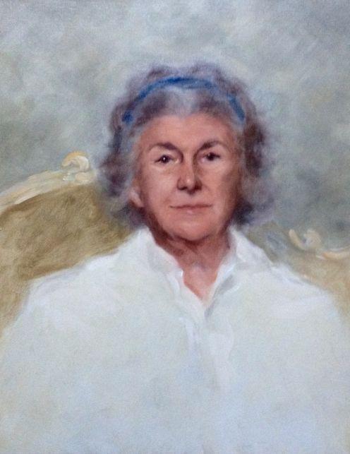 Patricia Stone - oil on canvas 60 x 50 cm