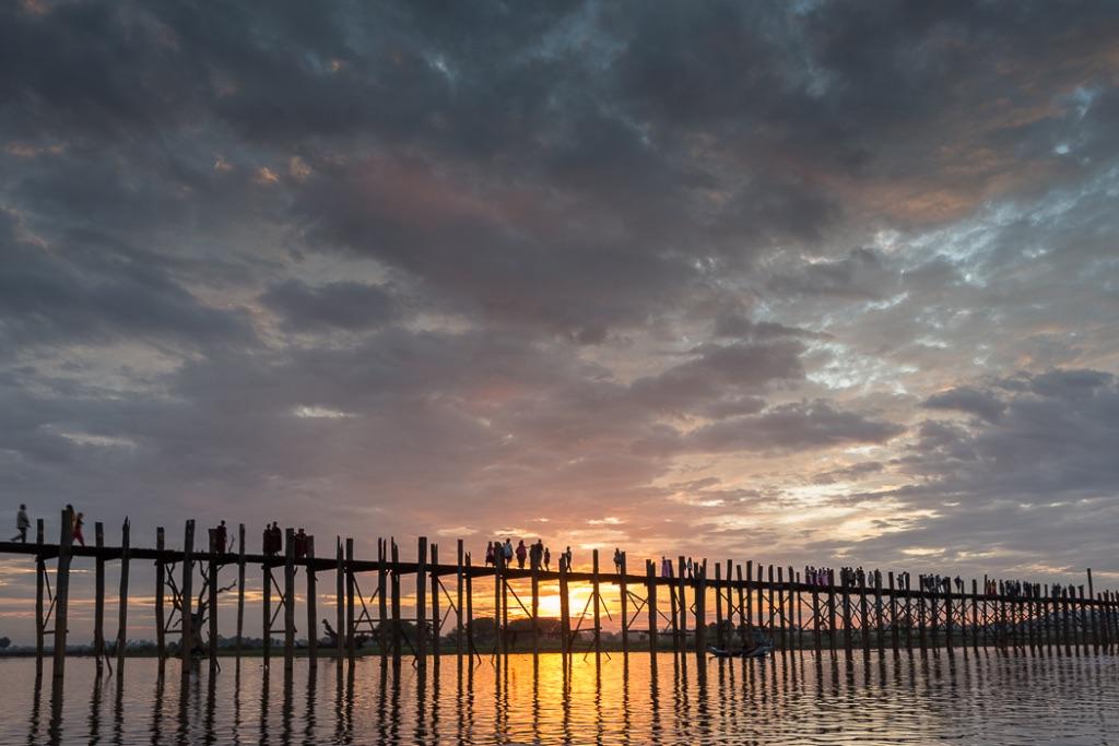Sunset U Bein Bridge