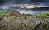 Stormy morning on Cat Bells