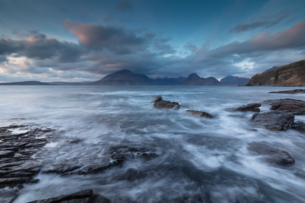 Late evening at Elgol, Skye