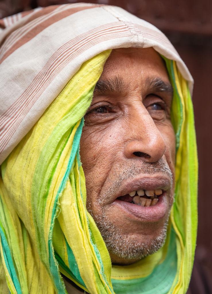 Medina beggar