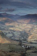 Newlands Valley from Cat Bells