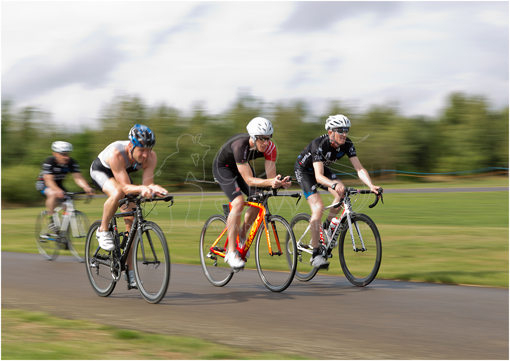 The cycle race