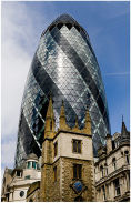 30 St Mary Axe & St Andrew Undershaft