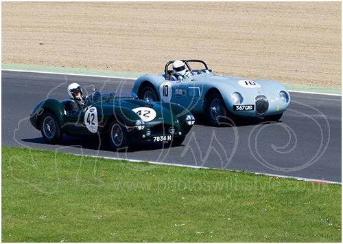 Jaguar C-Type & Frazer Nash Sebring