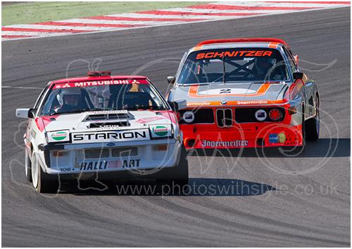 Mitsubishi Starion Turbo & BMW 3.5 CSL