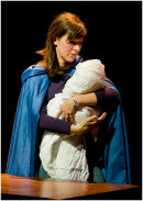 Avril Lovegrove as Mary with Jesus
