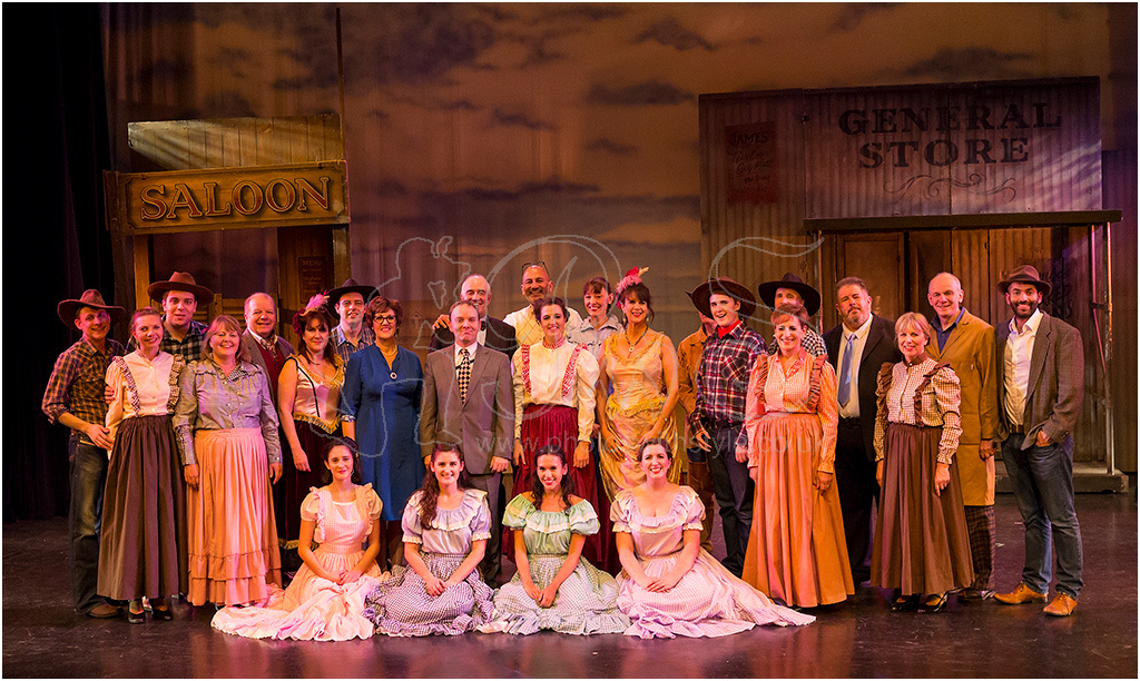 Epsom Light Opera Company cast of <i>Curtains</i>