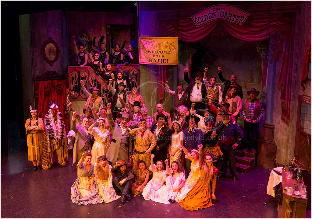 Epsom Light Opera Company cast of Calamity Jane