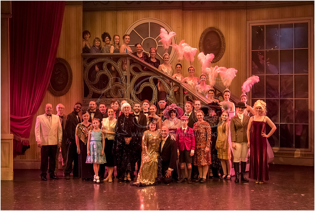 Epsom Light Opera Company cast of <i>Mame</i>