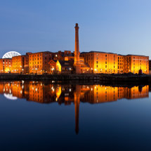 Albert Dock Panorama