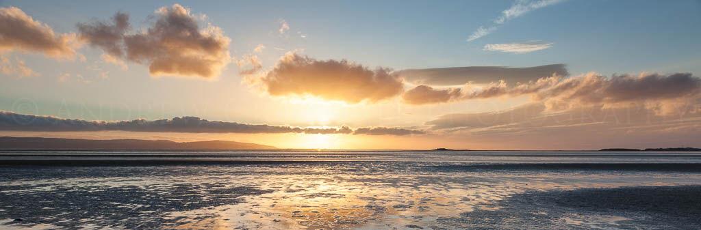 Dee estuary sunset