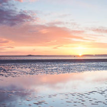 West Kirby sunset panorama