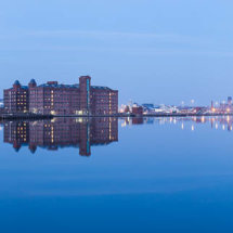 Birkenhead Docks panorama