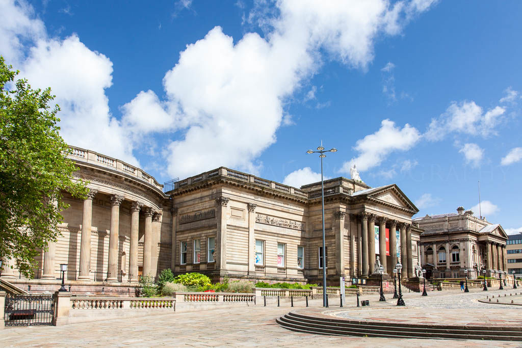 Walker Art gallery and the Central Library