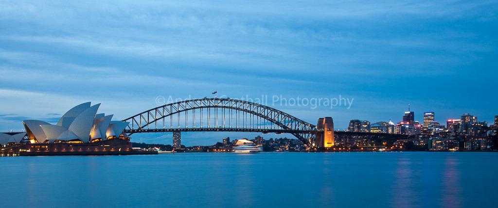 Harbour twilight