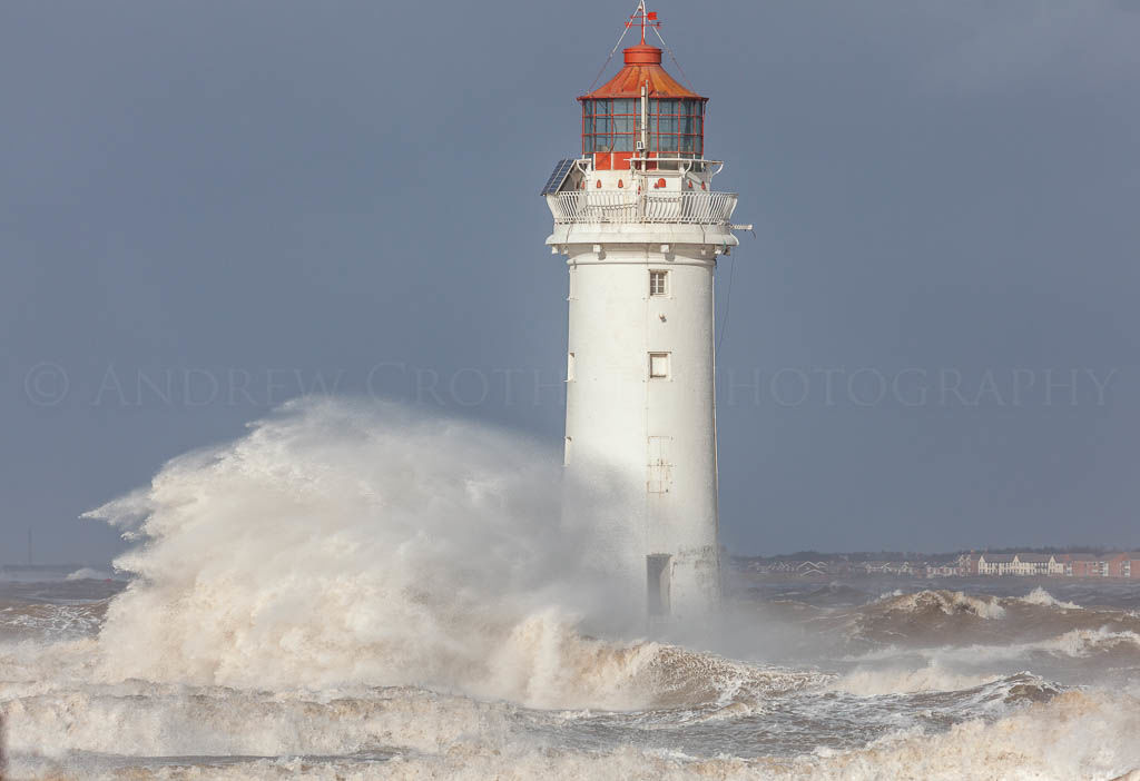 Perch Rock storm