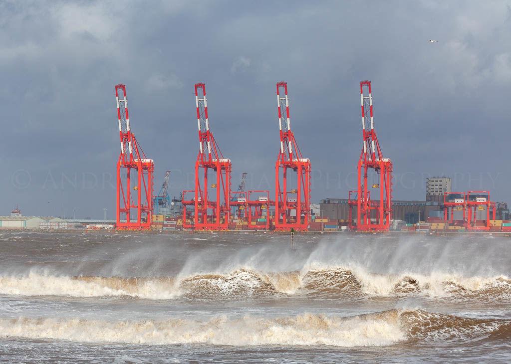 Mersey storm