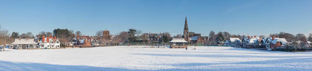 Thornton Hough winter panorama