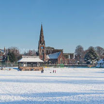 Thornton Hough winter panorama
