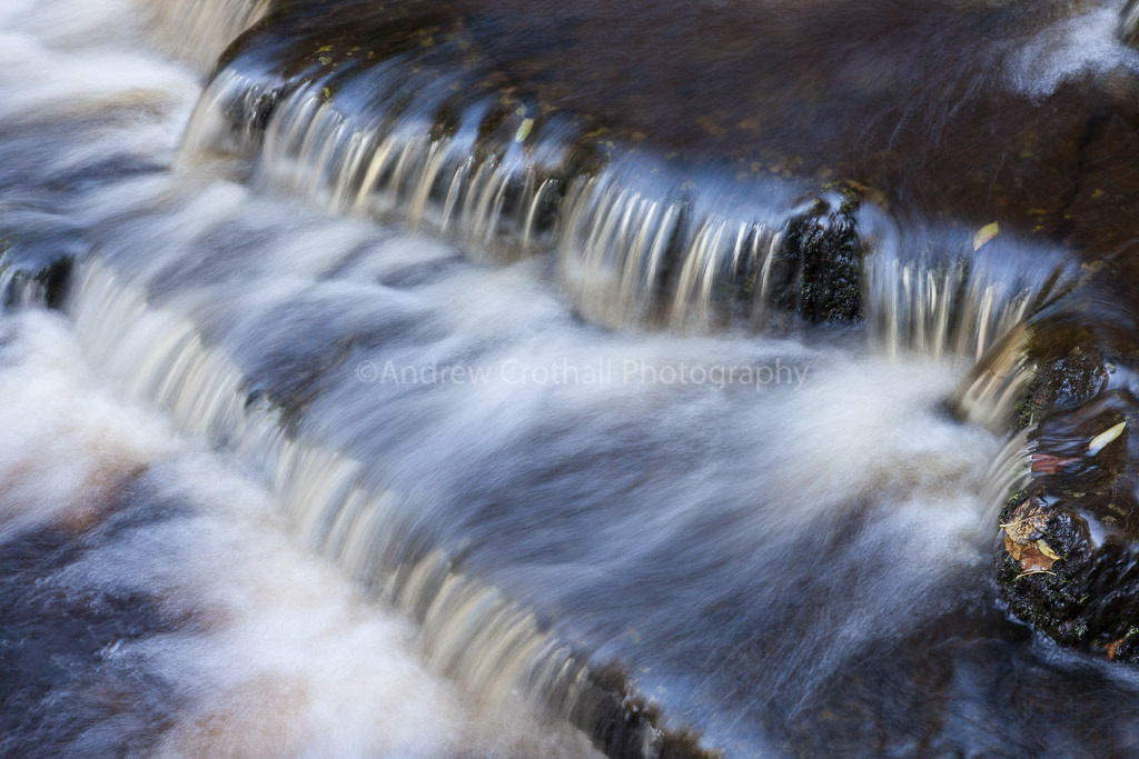 West Burton Falls detail 2