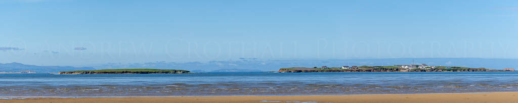 Hilbre islands panorama