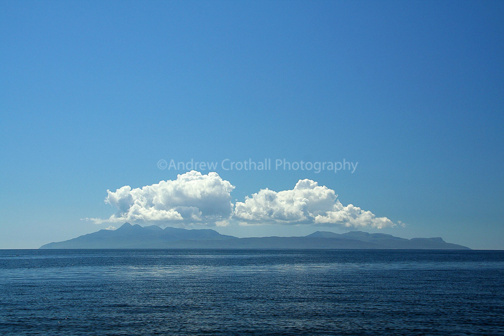 Over the sea from Skye
