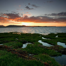 Broadford bay sunset