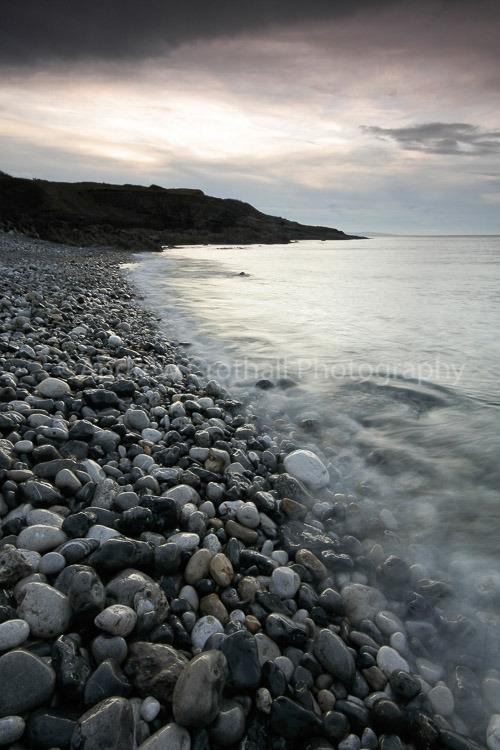 Penmon shore at dusk