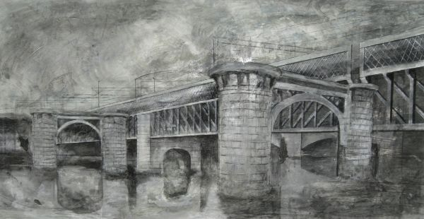 Central Station Bridge 140cmX70cm