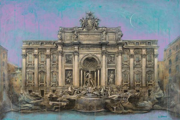 Fontana di Trevi, Trevi Fountain, Rome, Adam Kennedy