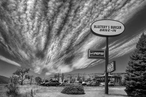 Blustery Burgers Drive In