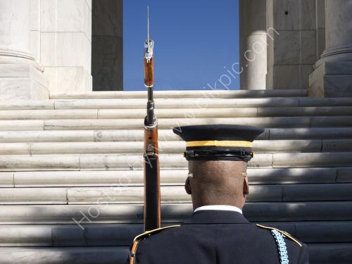 On Guard at Arlington