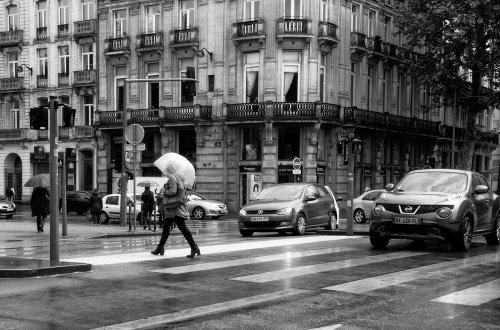 Lille in the Rain