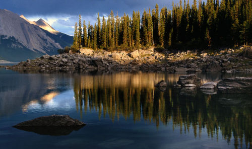 Medicine Lake, Canadian Rockies